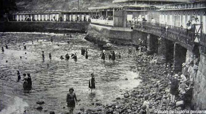 Antiguos Baños De Miraflores:Baños de Chorrillos
